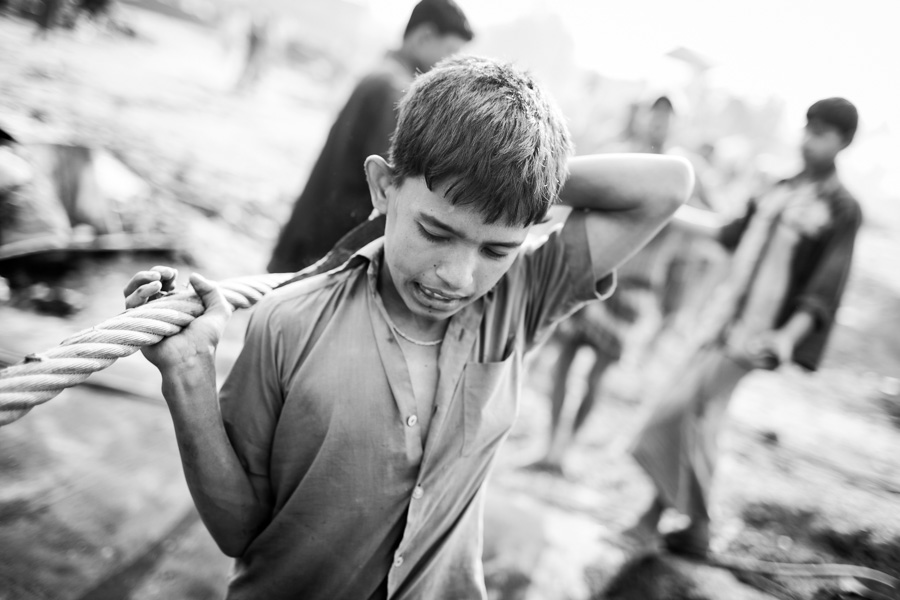 shipbreaking child labor