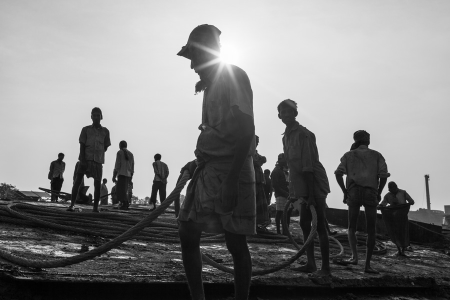 shipbreaking photography