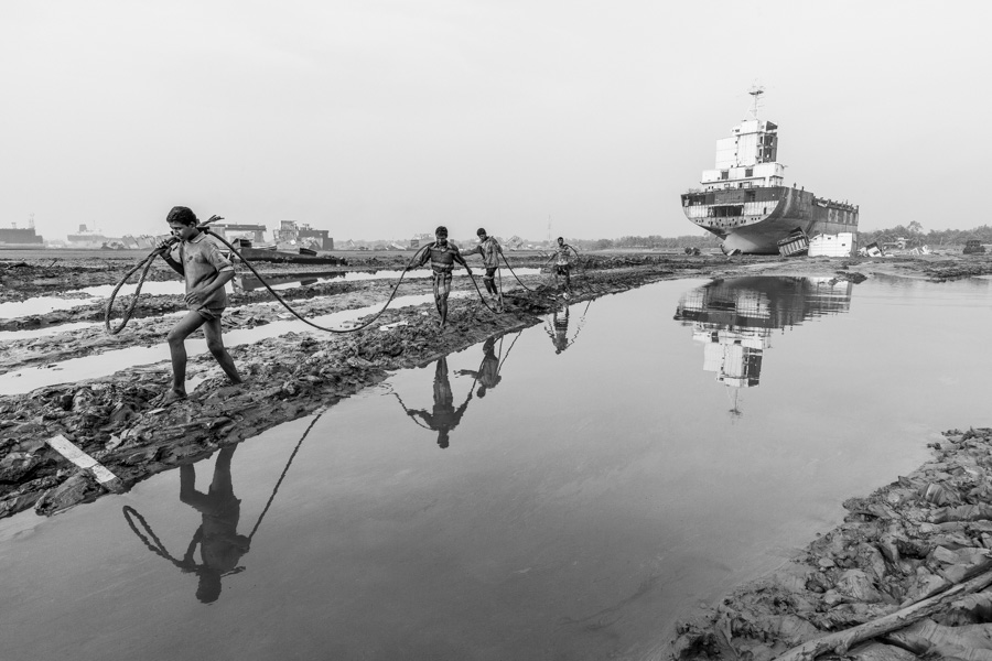 shipbreaking reflection