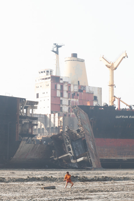 shipbreaking carrying tanks