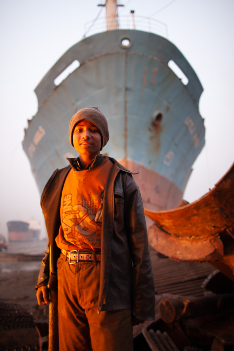 shipbreaking young worker