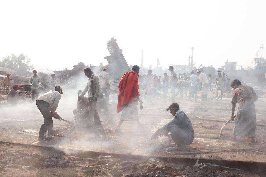 ship scrap yard india