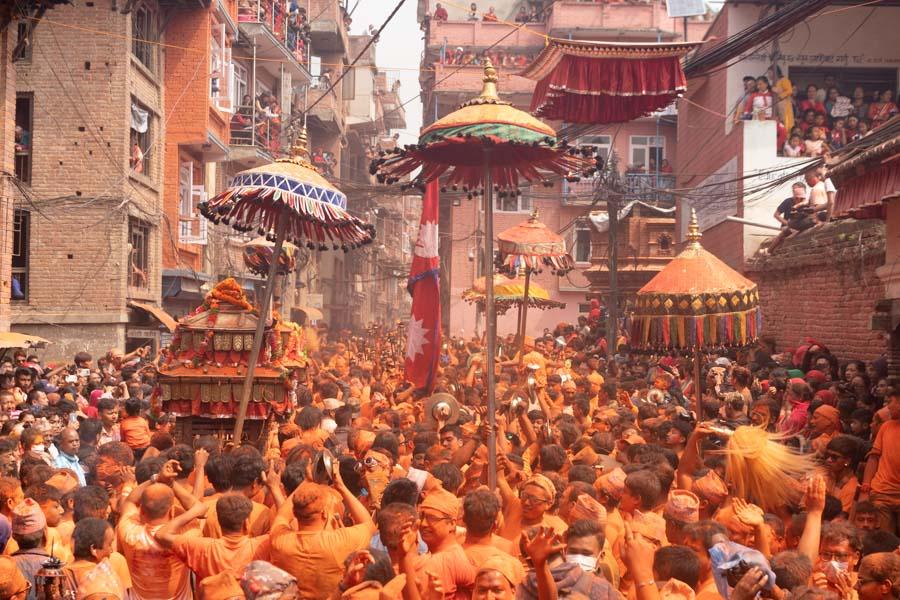 bisket jatra thimi procession