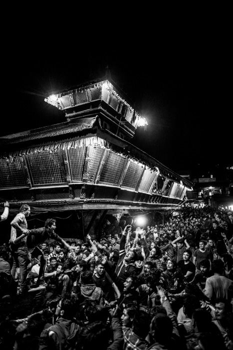 bisket jatra night